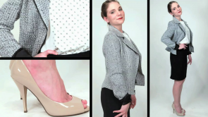 How to wear the pencil skirt 3 different ways casual, work and play