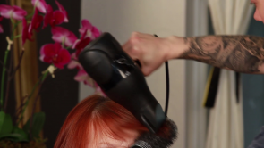 Taking care of your bangs