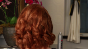 Beautiful, vintage style pin curls and waves, right at home!