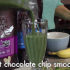 Mint Chocolate Chip Smoothie – Dairy And Sugar Free