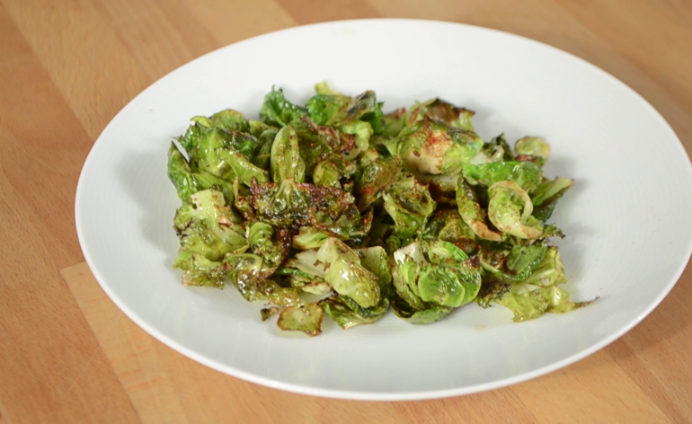 Quick and easy brussel sprouts