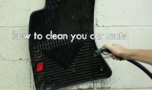 How To Clean Your Car Floor Mats