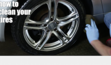 Perfectly Clean Car Tires