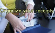 How To Organize Your Receipts